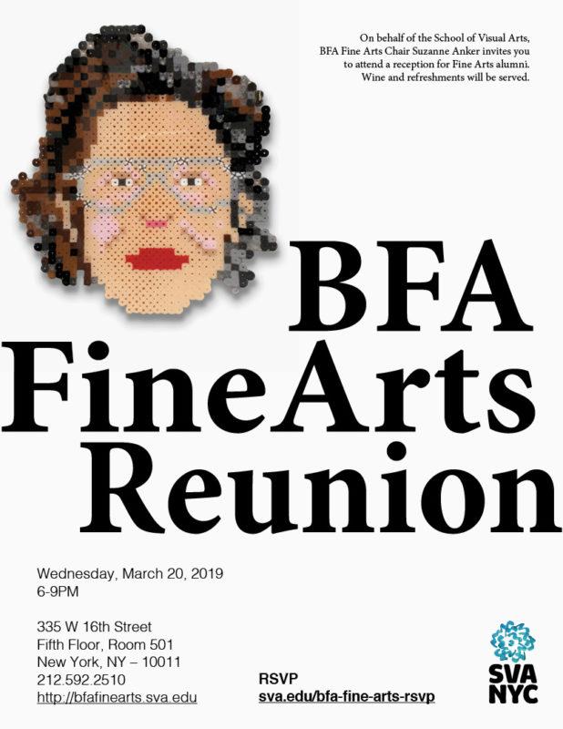 SVA BFA Fine Arts Alumni Reunion