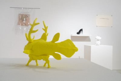 Anne Clinton: Fish with Legs and Deer Antlers, 20133D print7 x 5 x 3 inches