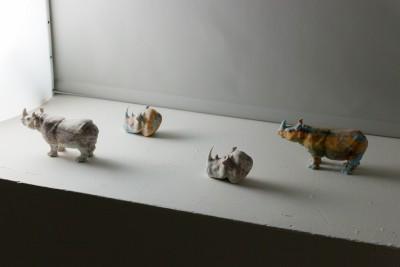 """Thibaut Dapoigny. """"Rhinos"""". 2014"""