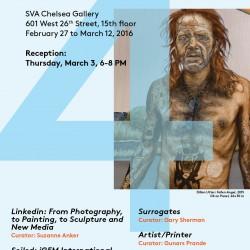 2016 4 Exhibitions SVA Chelsea BFA Fine Arts, 2016