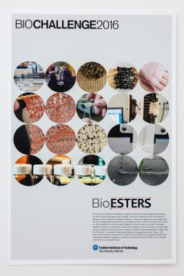 BioESTERS FIT - 2016 Biodesign Challenge - Our Biotech Future(s) Exhibition