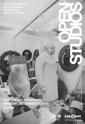 2017 fall open studios poster sva bfa fine arts4