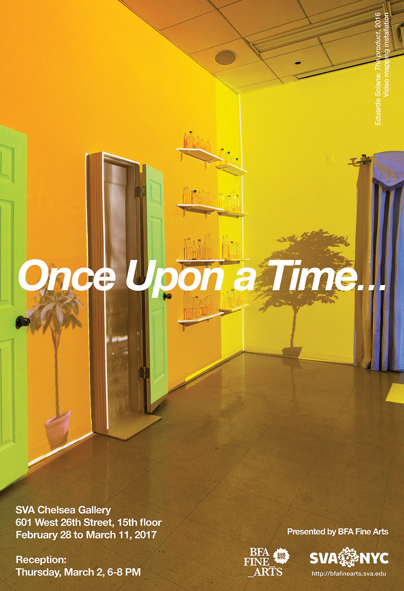 Once Upon a Time... SVA Exhibition