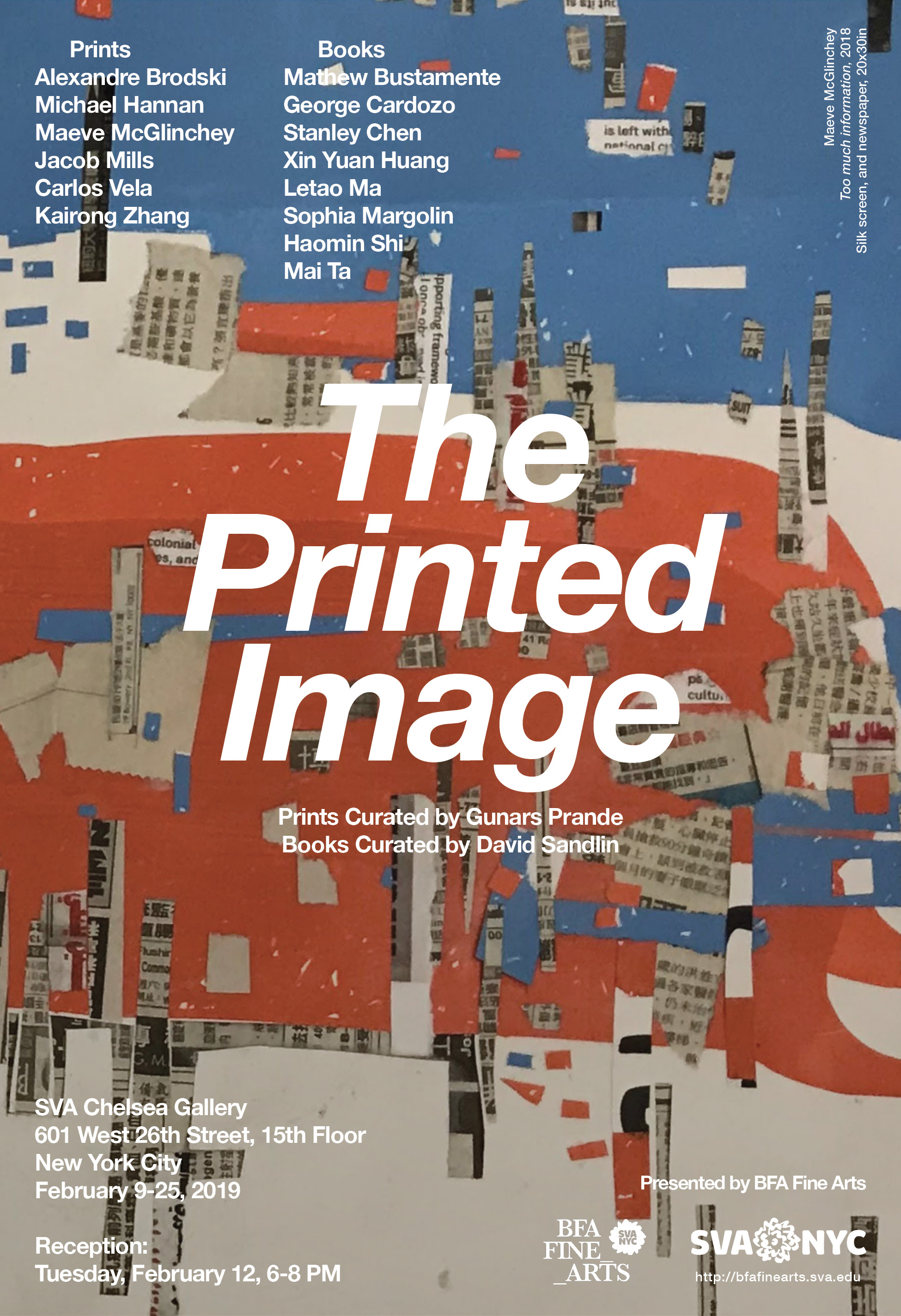 The Printed Image, curated by Gunars Prande and David Sandlin