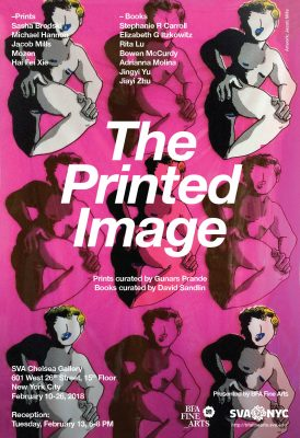 The Printed Image - Prints curated by Gunars Prande Books curated by David Sandlin