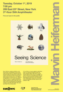 poster for Marvin Heiferman lecture
