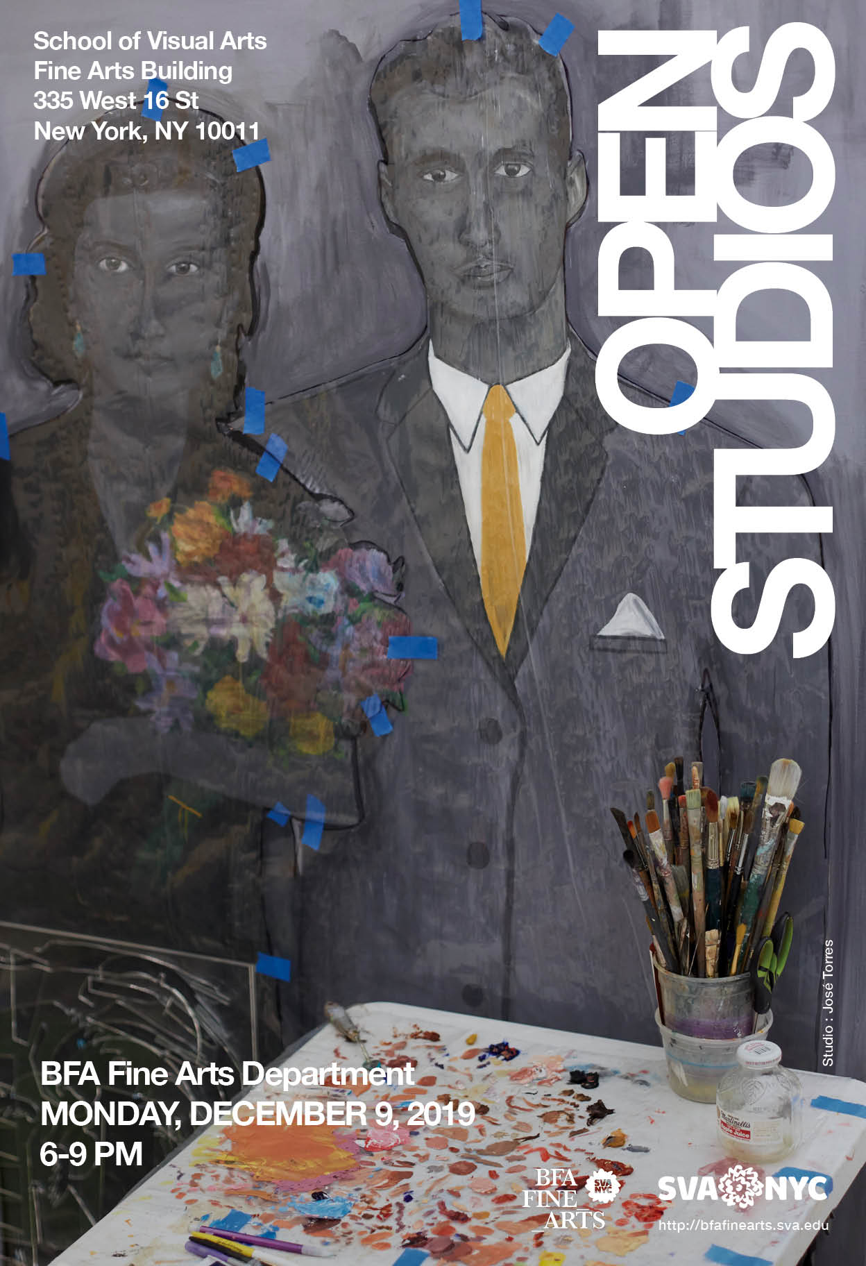 fall open studios poster