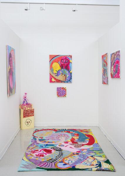 Sophia Santella, 2021. Installation view.