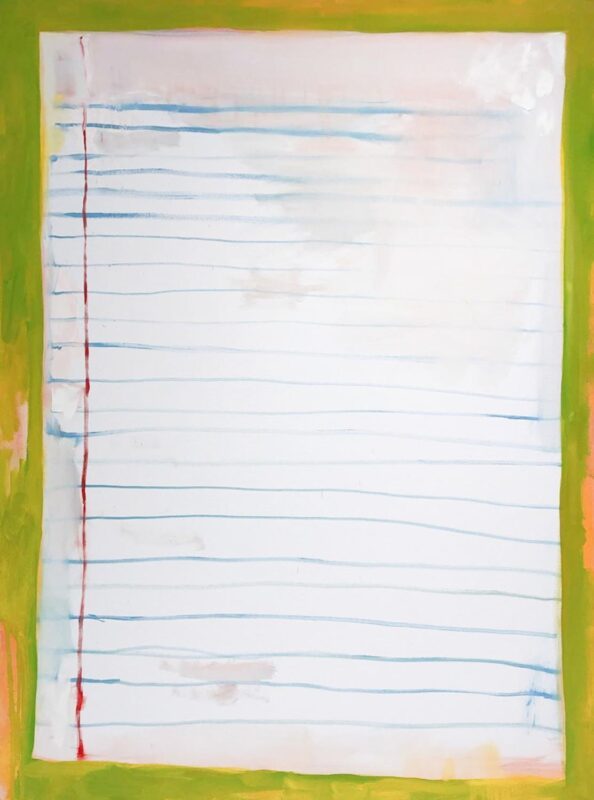 """Aynsley Leonardis, N/A, 2020. Oil on stretched canvas, 36 x 48""""."""