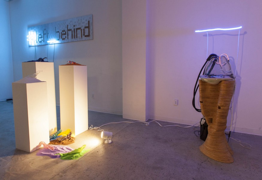 Alessia Resta: Installation view. 2013. Mixed media. Dimensions variable