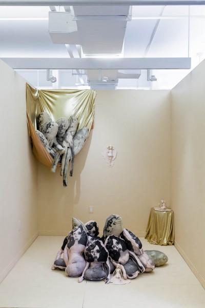 Alexa Keshtgar: Installation view. 2014. Mixed media. Dimensions variable.