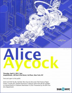 Alice Aycock Lecture