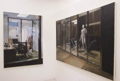 Bryce Kroll: Installation view: (L)