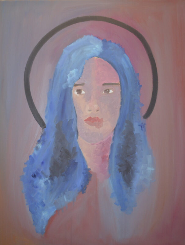 Caitlyn Ashley Padilla, As I Am, 2020. Oil on canvas. 30 x 24 inches.