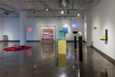 Color Wheel, Installation view