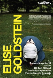 Elise Goldstein Lecture