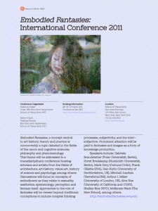 Embodied Fantasies Conference
