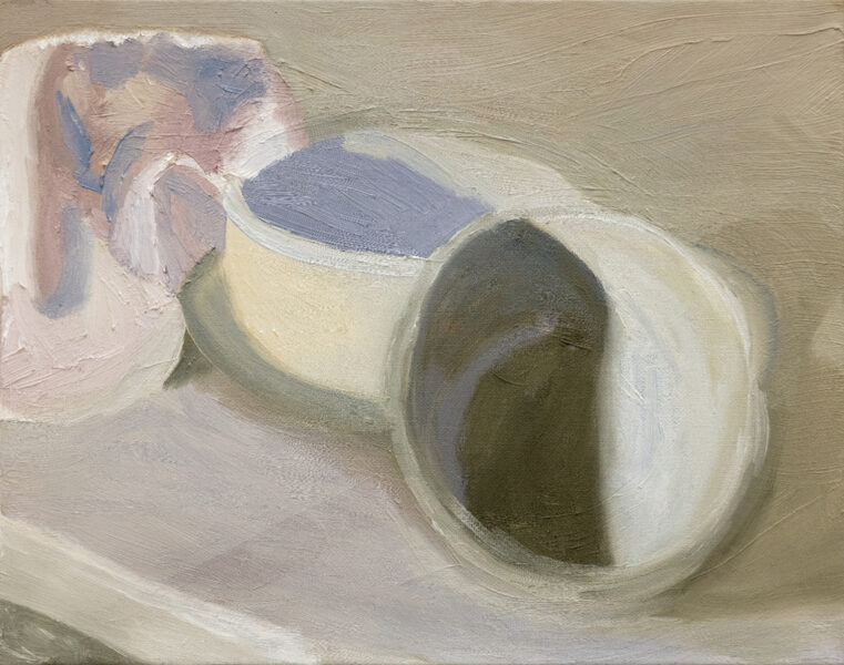 Jungeun Annie Yang, Still Life 6, 2020. Oil on canvas, 11 x 14 inches.