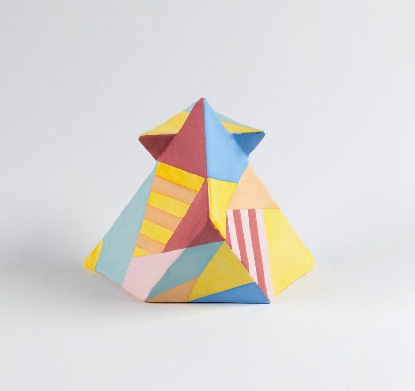 Yedda Ye, Order of Life, 2020. Glazed ceramic, 7 x 7 x 7 inches.