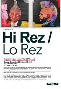 Hi Rez/Lo Rez Opening Reception
