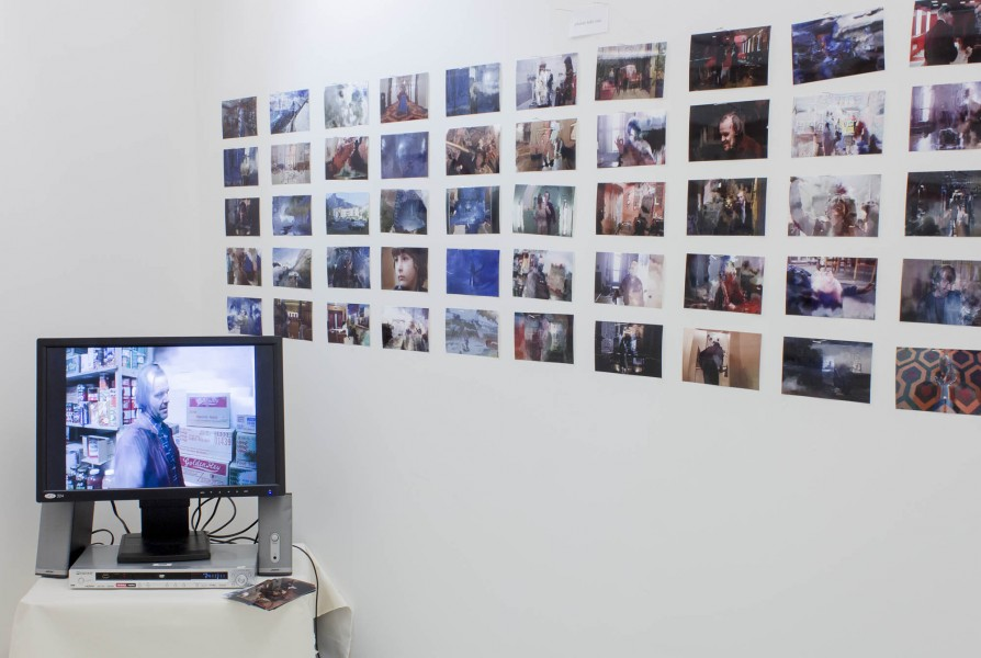 Holly Strawbridge: Installation view. 2013. Mixed media. Dimensions variable