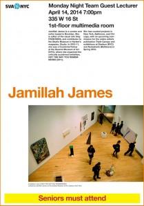 Jamillah James Lecture