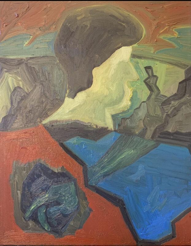 Jane Lee, Untitled, 2020. Oil on canvas.
