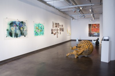 Material Magic, Installation view