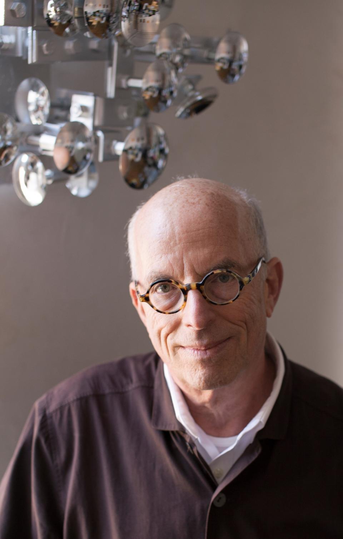Portrait of curator, writer and theorist Marvin Heiferman.