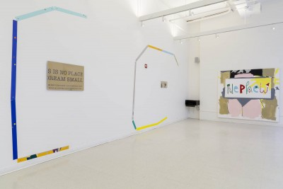 Michael Caudo: Installation view. 2014. Mixed media. Dimensions variable