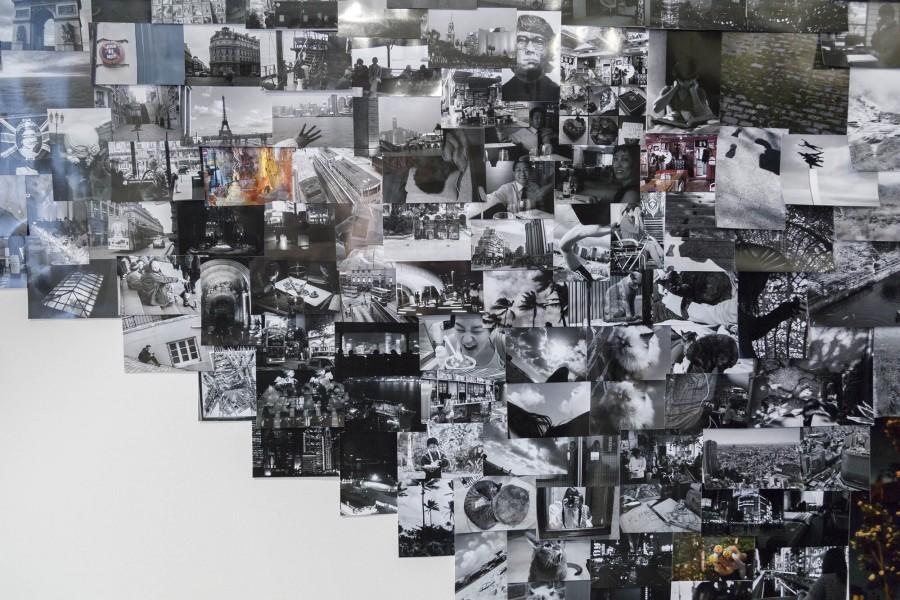 Minchae Kim: Installation view (detail). 2014. Photos. Dimensions variable