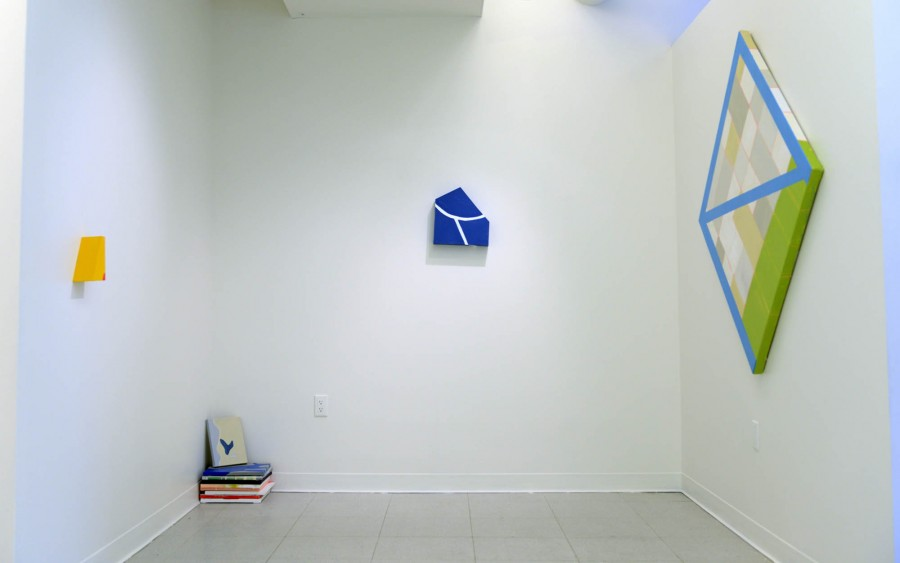 Nahee Kim: Installation view. 2013. Mixed media. Diemensions variable