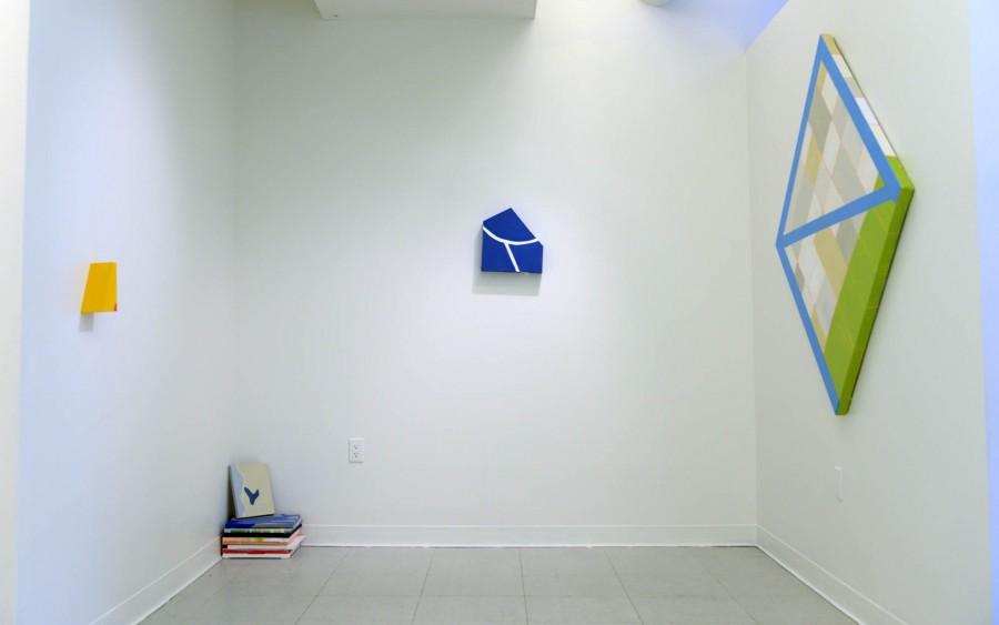 Nahee Kim: Installation view. 2013. Mixed media. Diemensions variable