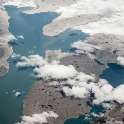 "Paul Arthur Lemarquis: ""Greenland Landscape"". 2014. Photography. 72 x 48"""