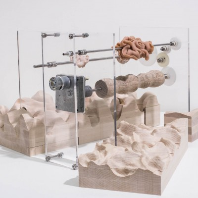 """Sojin Lim: """"A Collection of Irregularity"""". 2013. Mixed media. Dimensions variable"""