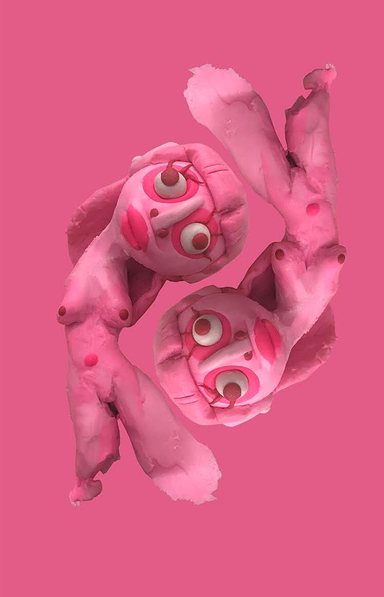 Sophia Santella, Pink Girl, 2020. Digital Photograph. 24 x 20 inches.