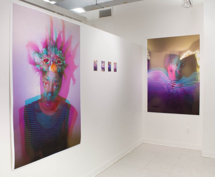 Sharon Stevens: Installation view. 2013. Ink jet print. Dimensions variable