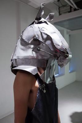 Vincent Chen. Welded sheet metal. 24x16x29