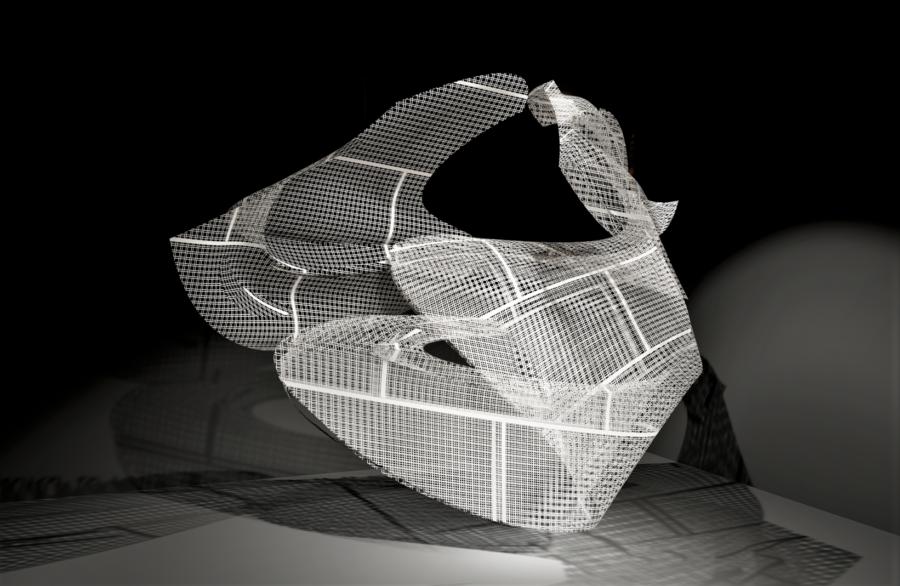 So Young Park, <i>Beyond</i>, 2019-2020. Digital sculpture.