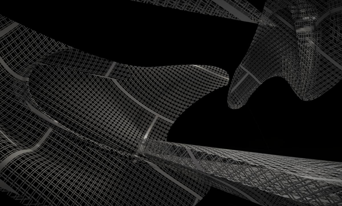 So Young Park, Beyond, 2019-2020. Digital sculpture. Detail.