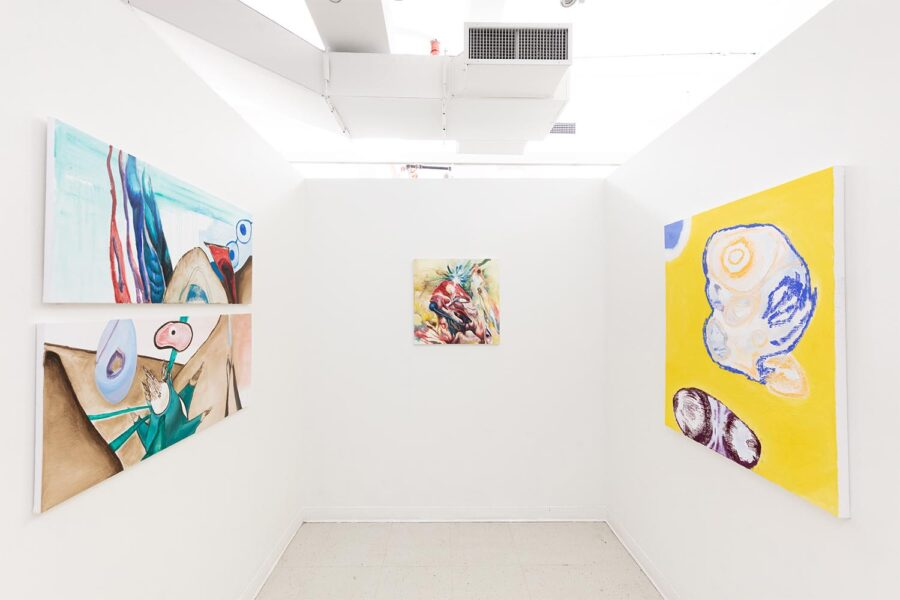 Sueun Lee, Installation view from 'Fall Open Studios', 2019, New York.