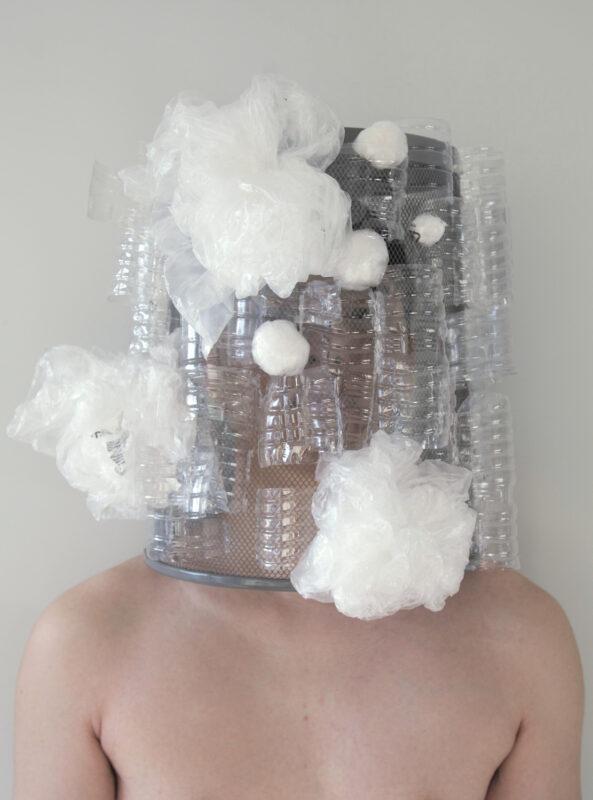 Suyu Chen, Dumped Head #1, 2020. Digital photograph. 7.6 x 10.7 inches.