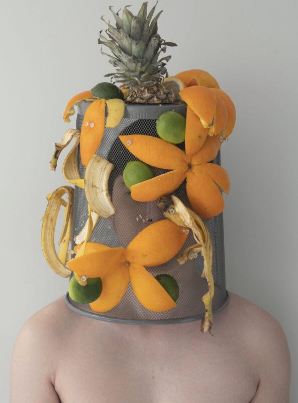 Suyu Chen, Dumped Head #2, 2020. Digital photograph. 7.6 x 10.7 inches.
