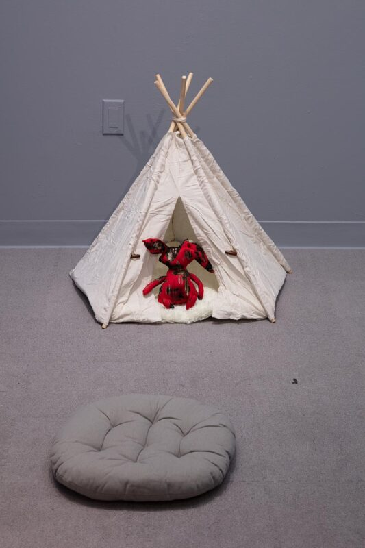 Viviann Lu: SVA - BFA Fine Arts Open Studios. Fall 2019, 2019. Mixed Media. (Installation).