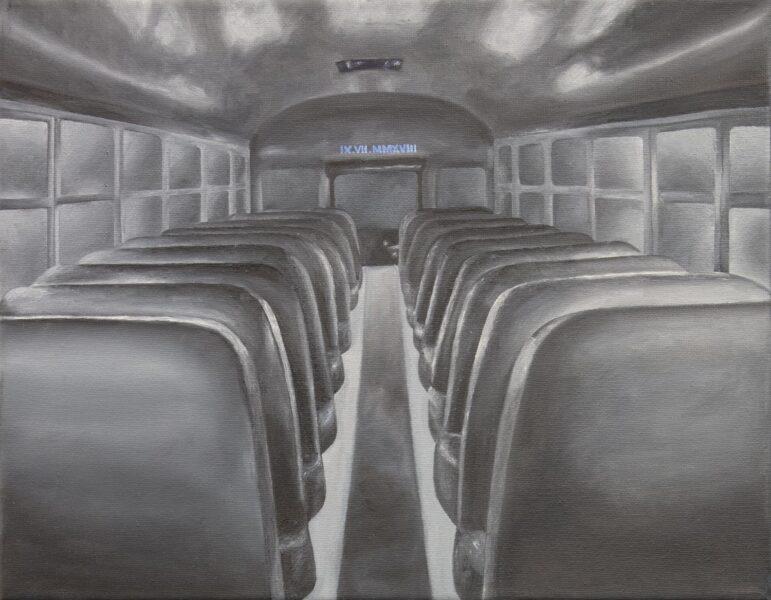 Viviann Lu. Untitled, 2019. Painting.