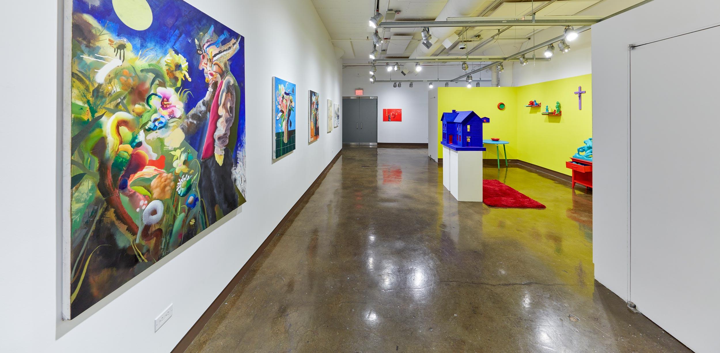 "Exhibition view ""Chromaphilia-Chomophobia"". 2020, SVA Chelsea Gallery, New York"