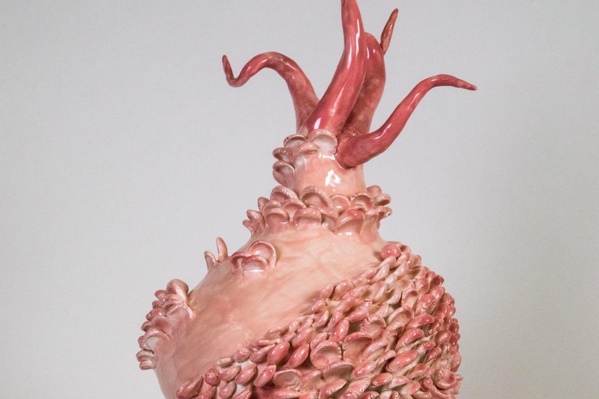 Ceramic Artwork by Carol Cao
