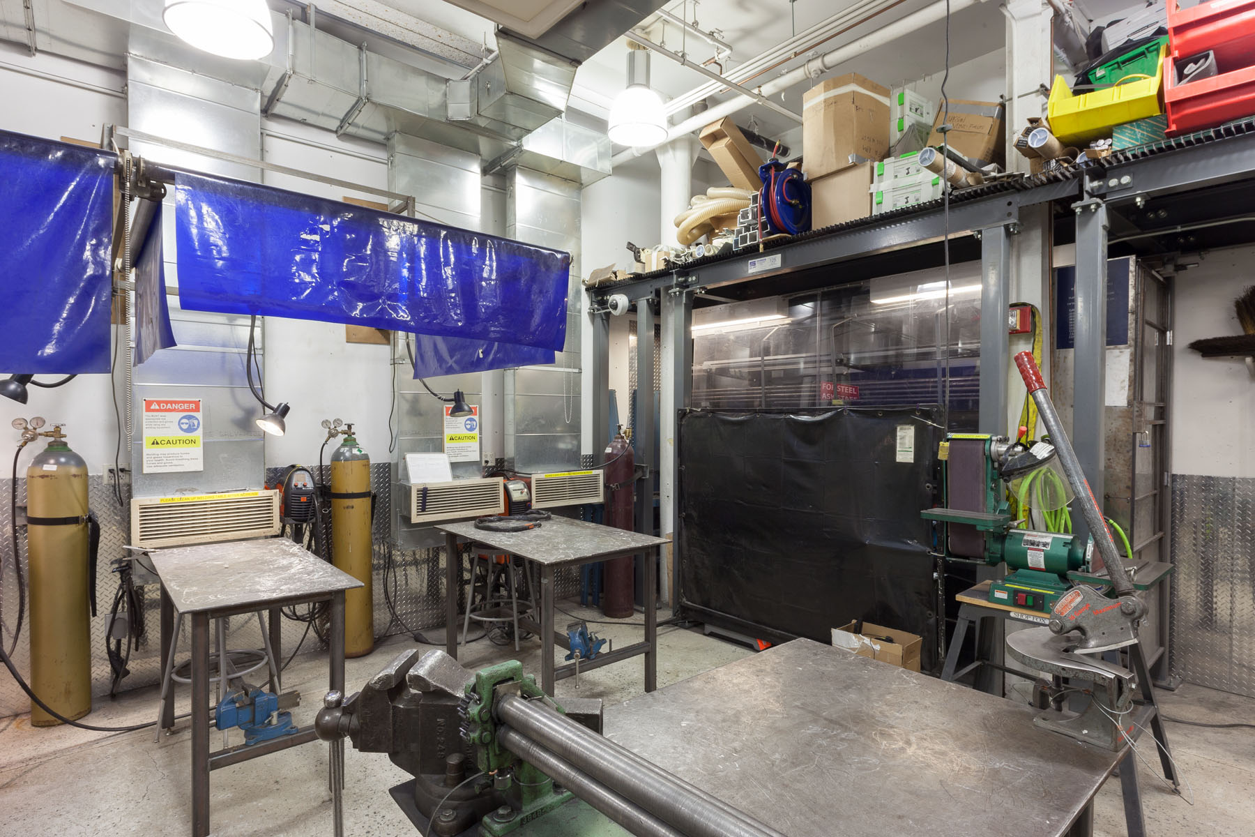 Metalshop Facilities Bfa Fine Arts Department Sva Nyc