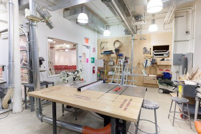 Woodshop SVA BFA Fine Arts, NYC